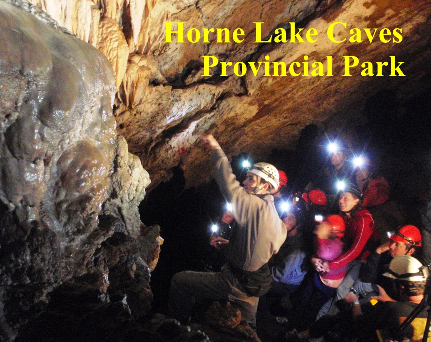Horne Lake Caves on Vancouver Island, BC